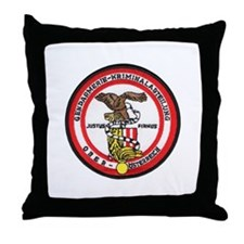Upper Austria Police Throw Pillow