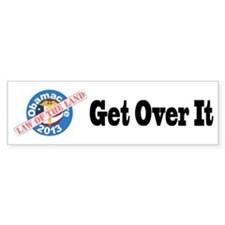 Obamacare Law of the Land Bumper Car Sticker