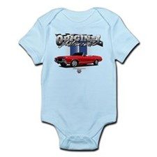 Musclecar Red Convertible Infant Bodysuit