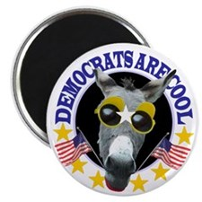 "DEMOCRATS ARE COOL 2.25"" Magnet (100 pack)"