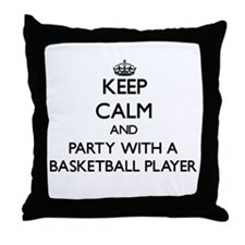 Keep Calm and Party With a Basketball Player Throw