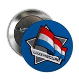 """Luxembourg Star Flag"" 2.25"" Button (100 pack)"