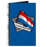 """Luxembourg Star Flag"" Journal"