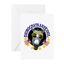DEMOCRATS ARE COOL Greeting Cards (Pk of 10)