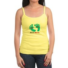 NICU nurse t-shirt blue feet Tank Top