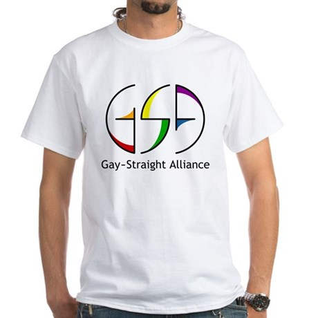 GSA Spin White T-Shirt