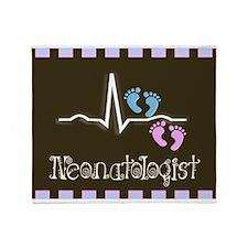 Neonatologist 5 Blanket Throw Blanket