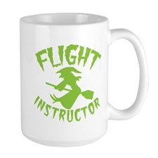 Flight instructor wickedy witch on a broomstick Mu
