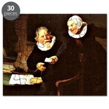 Rembrandt - The Shipbuilder and his Wife, 1 Puzzle