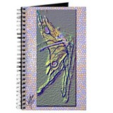 Fluorescent Butterfly Ballet Journal