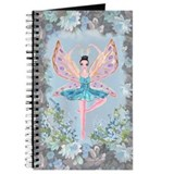 Ballet Fairy in Blue Garden Journal