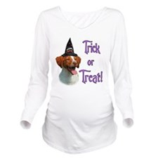 BrittanyTrick.png Long Sleeve Maternity T-Shirt