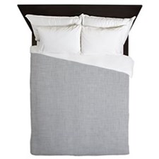 Grey Linen Queen Duvet