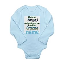 ANGEL CALLED GRANDMA CUSTOM Body Suit