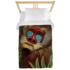 Mandrill in the Jungle, Henri Rousseau  Twin Duvet