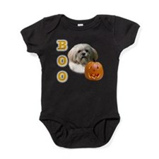 LhasaBoo2.png Baby Bodysuit
