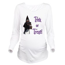 PointerTrick.png Long Sleeve Maternity T-Shirt