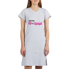 I Put the Ho in Homo! Women's Nightshirt