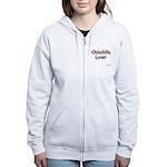 ChinchillaLover.png Women's Zip Hoodie