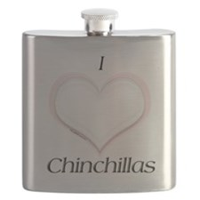 Chinchilla Heart Flask