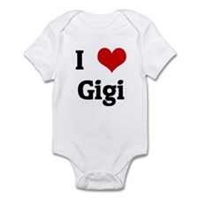 I Love Gigi Infant Bodysuit