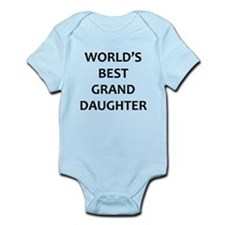 Worlds Best Granddaughter Body Suit