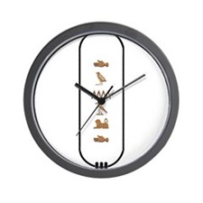 "Donald in Hieroglyphics ""Colo Wall Clock"