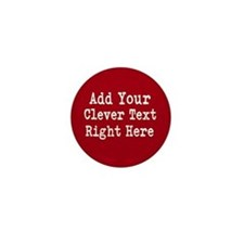 Add Text Background Red Mini Button