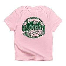 Mammoth Mtn Old Circle Green Infant T-Shirt