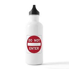 Do Not Enter Water Bottle