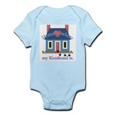 Keeshond Gifts Infant Bodysuit