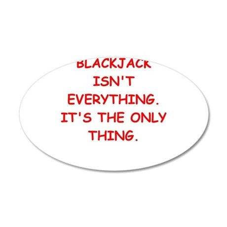 BLACKJACK3 Wall Decal