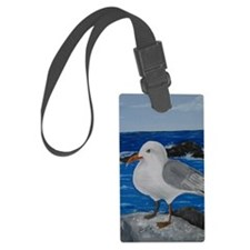 Seagull Luggage Tag