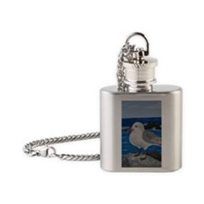 Seagull Flask Necklace