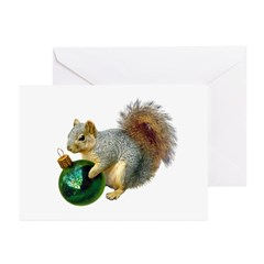 Squirrel with Ornament