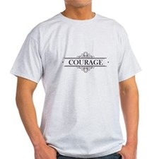 Courage Calligraphy T-Shirt