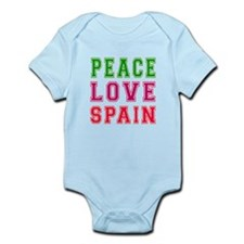 Peace Love Spain Infant Bodysuit