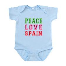 Peace Love Spain Onesie