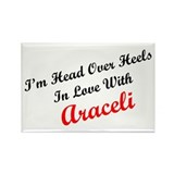 In Love with Araceli Rectangle Magnet (100 pack)