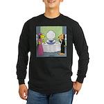 Toilet Bowl Punch Bowl Long Sleeve Dark T-Shirt