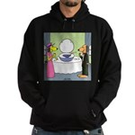 Toilet Bowl Punch Bowl Hoodie (dark)