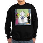 Toilet Bowl Punch Bowl Sweatshirt (dark)