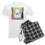 Toilet Bowl Punch Bowl Men's Light Pajamas