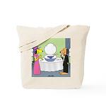 Toilet Bowl Punch Bowl Tote Bag
