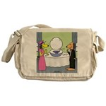 Toilet Bowl Punch Bowl Messenger Bag