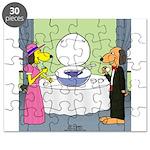 Toilet Bowl Punch Bowl Puzzle