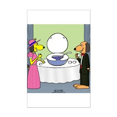 Toilet Bowl Punch Bowl Posters
