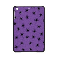 Purple Spider Pattern iPad Mini Case