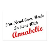 In Love with Annabelle Postcards (Package of 8)