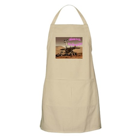 """Welcome to the Mars Bar and Grill"" BBQ Apron"